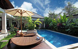 Виллы в комплексе Sanur Beach Villas